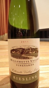 Willamette Valley Riesling